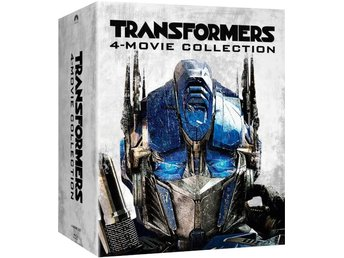 Transformers 1-4 - Limited Edition Steelbook Box Set Blu-ray