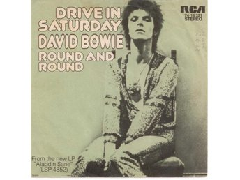 "DAVID BOWIE - Drive In Saturday  7"" Singel  Tyskland"