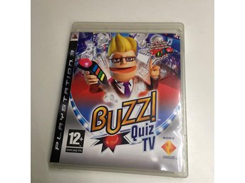 Buzz Quiz TV, svenskt/nordiskt (PS3)