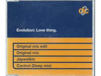 EVOLUTION: LOVE THING   ( CD MAXI/SINGLE )