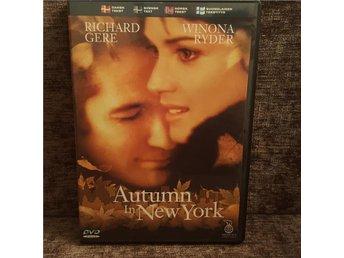 Autumn in New York (Winona Ryder) DVD - Luleå - Autumn in New York (Winona Ryder) DVD - Luleå