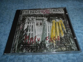 The Neon Judgement - Mafu Cage and Extras (CD) Very Rare NM/NM