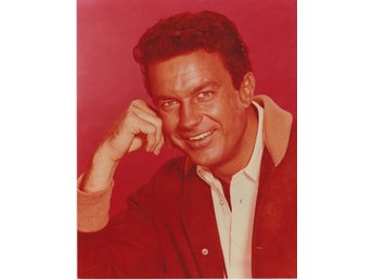 CLIFF ROBERTSON AMERICAN ACTOR PHOTOGRAPH 20 x 25cm FOTO