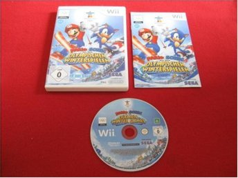 MARIO & SONIC AT THE OLYMPIC WINTERGAMES till Nintendo Wii