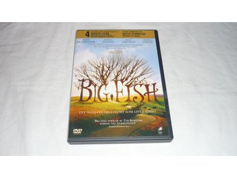 Big Fish - Tim Burton - Ewan McGregor - Albert Finney - Svensk text - Alfta - Big Fish - Tim Burton - Ewan McGregor - Albert Finney - Svensk text - Alfta