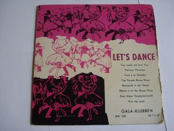 Liten LP. Let´s Dance.