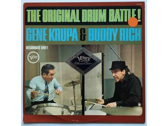GENE KRUPA & BUDDY RICH The Original Drum Battle LP GER 1960