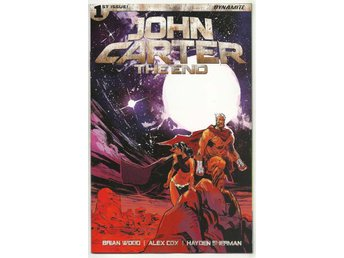John Carter: The End # 1 Cover A NM Ny Import