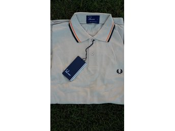Beige Fred Perry piké large