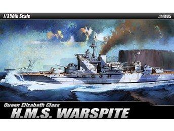 Academy 1/350 HMS Warspite. Queen Elizabeth Battleship - Skoghall - Academy 1/350 HMS Warspite. Queen Elizabeth Battleship - Skoghall