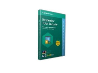 Kaspersky Total Security Multi Device 2018, 3anv 1år Attach