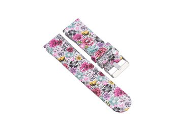 Garmin Fenix 3 silicone watchband strap- Colorful Flowers