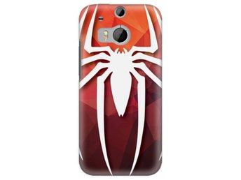 HTC One M8 Skal Spider-Man Symbol