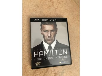 Jan Guillou Mikael Persbrandt Hamilton Blu-Ray dvd ny i nationens intresse