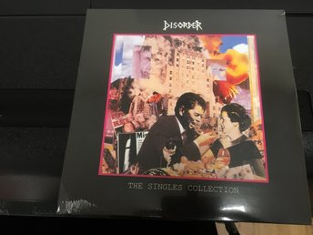 DISORDER / THE SINGLES COLLECTION / VINYL LP / HELT NY INPLASTAD.