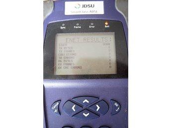 Javascript är inaktiverat. - Lidingö - Ingen adapter körs på batteriet Product Details Product InformationThe JDSU Acterna SmartClass VDSL Cable Tester includes a built-in VDSL modem, which lets it synch with the local Digital Subscriber Line Access Multiplexer at suitable communi - Lidingö