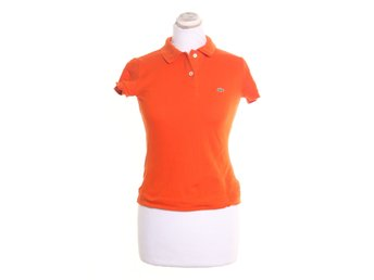 Lacoste, Pikétröja, Strl: 36, Orange