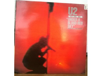 U2 - Under A Blood Red Sky (Live), LP