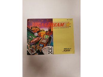 Vegas Dream - Manual NES NINTENDO - USA