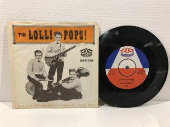 The Lollipops - Lollipops Shake SWE -64 (KFF581) MEGARARE