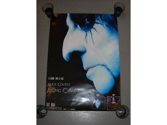 ALICE COOPER - ALONG CAME THE SPIDER IN STORE PROMO POSTER ( 70 x 50 cm )