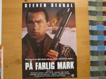 PÅ FARLIG MARK 70x100 1994 Steven Seagal