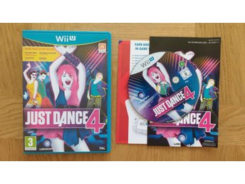 Nintendo Wii U: Just Dance 4