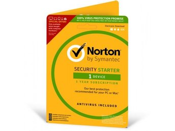 Symantec Norton Security Starter 3.0 för 1 enhet