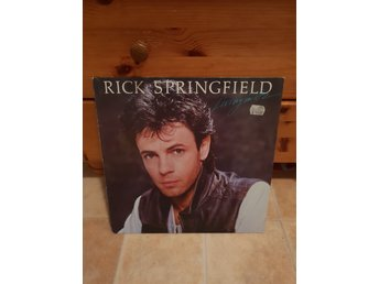 Rick Springfield Living On Oz vinyl