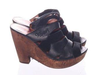 Högklackade skor   festskor - storlek 37 37 55f585741f371