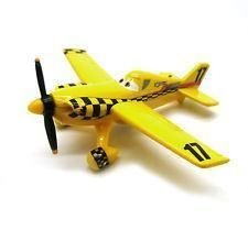Planes Disney Pixar Cars - Flygplan - Yellow Bird 17 Metall Originalstorlek