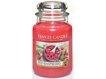 Yankee Candle Red Raspberry Large Nytt Ljus