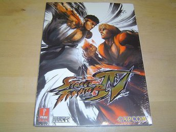 Street Fighter 4 Playstation 3 PS3 & Xbox 360 Guide *NYTT*