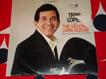 TRINI LOPEZ - THE SECOND LATIN ALBUM LP 1966