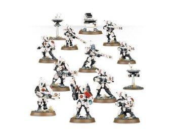 Warhammer 40k Tau Fire Warrior Strike Team/Breacher Team - Halmstad - Warhammer 40k Tau Fire Warrior Strike Team/Breacher Team - Halmstad
