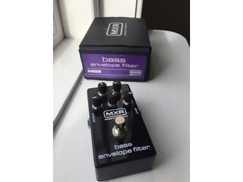 MXR Bass Envelope Filter, baspedal/ baseffekt