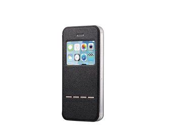 Apple Iphone 5 5S Fodral Smart Svar Skal Case Svart