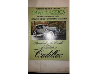 Car Classics February 1977 Mycket läsning om Cadillac