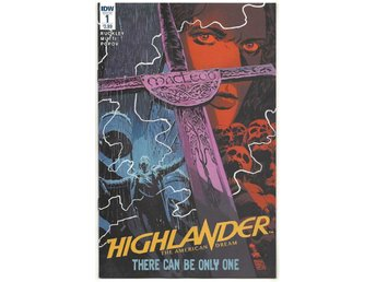 Highlander: The American Dream # 1 NM Ny Import