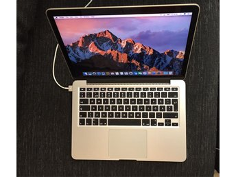 Macbook Pro 13 Retina display, Sent 2013