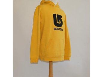 Burton, hoodie / tröja, gul med logo, storlek XL (18) - Helsingborg - Burton, hoodie / tröja, gul med logo, storlek XL (18) - Helsingborg