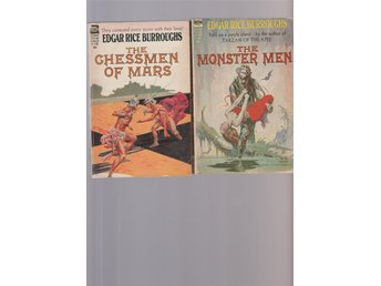 Edgar Rice Burroughs  The Monster Men/Chessmen of Mars  ACE Books