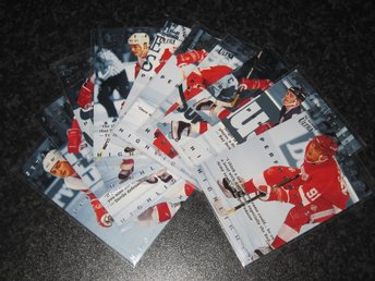 1994-95 Sergei Fedorov Performance Highlights Fleer Ultra Komplett Set 10/10 - Tingsryd - 1994-95 Sergei Fedorov Performance Highlights Fleer Ultra Komplett Set 10/10 - Tingsryd
