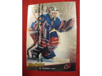 MIKE RICHTER NEW YORK RANGERS - TOPPS FINEST 1998-1999 - 98-99
