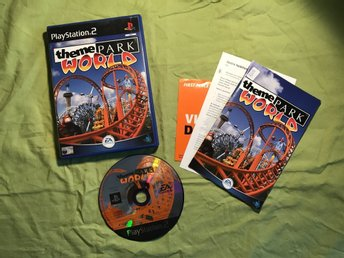 THEME PARK WORLD PS2 PLAYSTATION 2