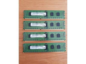 16GB DDR3 PC3L-12800R 1,35V DDR3 ECC - till server