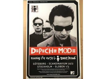 Poster Depeche Mode Touring the Angel 2005/2006