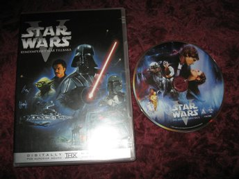 STAR WARS RYMDIMPERIET SLÅR TILLBAKA EPISODE V (HARRISON FORD,MARK HAMILL) DVD