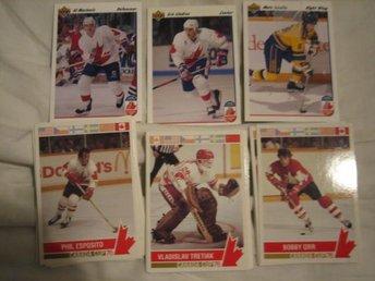 Canada Cup 1976 & 1991 – 26 olika bilder - S. Sunderbyn - Canada Cup 1976 & 1991 – 26 olika bilder - S. Sunderbyn