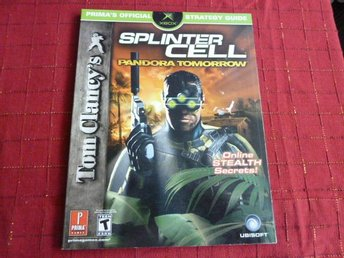 TOM CLANEY'S SPLINTER CELL - PANDORA TOMORROW,  STRATEGY GUIDE, BOK, BÖCKER